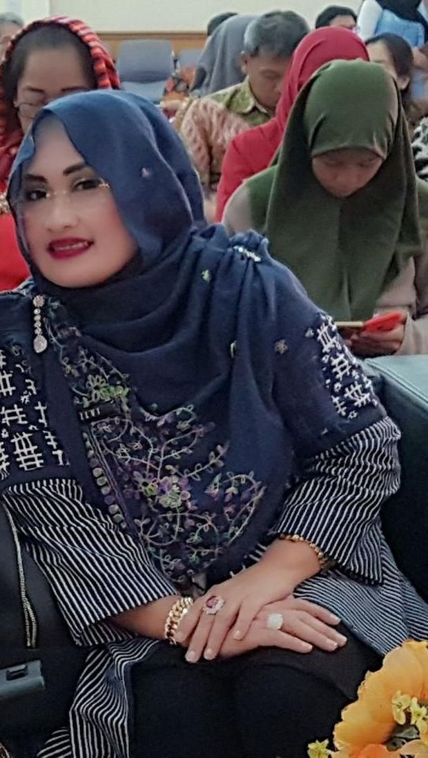 Kepala Suku Dinas Koperasi UKM Dan Perdagangan Jakarta Barat Nuraini Silviana.