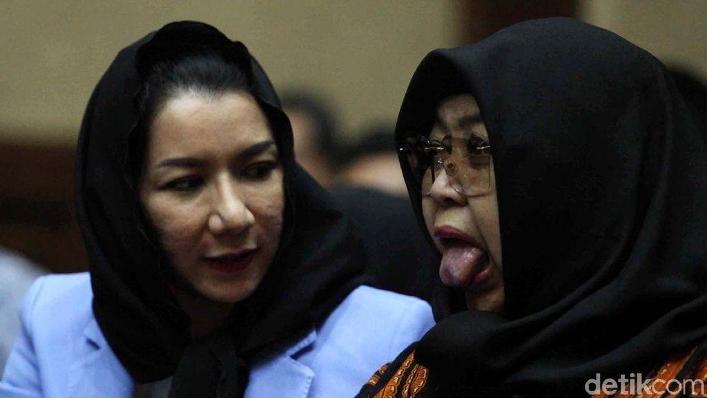 Jadi Napi Korupsi, Perubahan Wajah Bupati Rita Bikin Syok