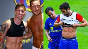 Messi hingga Fabregas, Para Pemain Bola yang Pakai Bra Saat Latihan