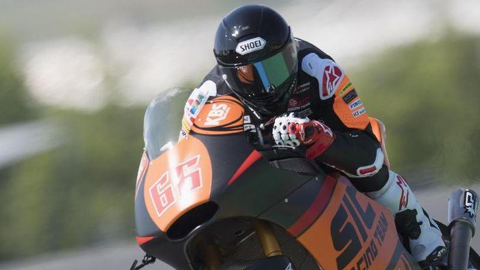 Niki Tuuli membalap untuk SIC Racing di kelas Moto2 (Foto: Mirco Lazzari gp/Getty Images)