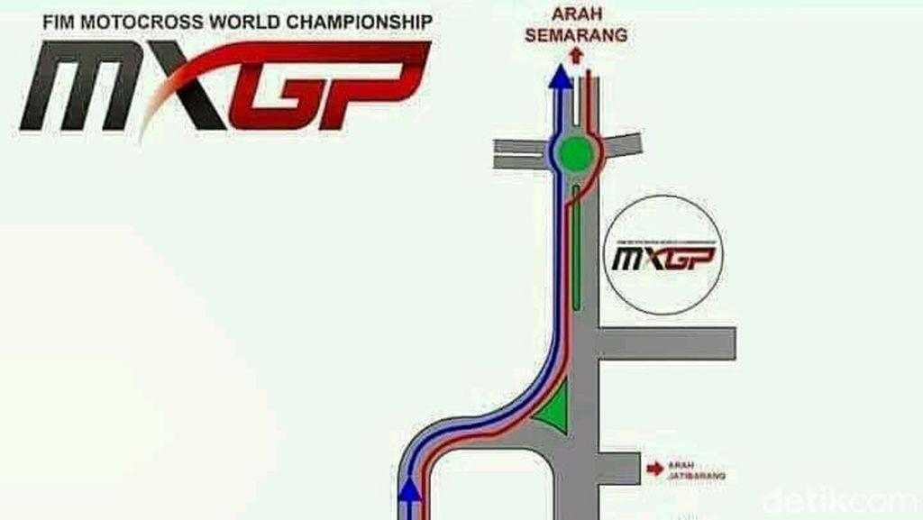 Ini Rekayasa Lalu Lintas di Sekitar Sirkuit MXGP Semarang