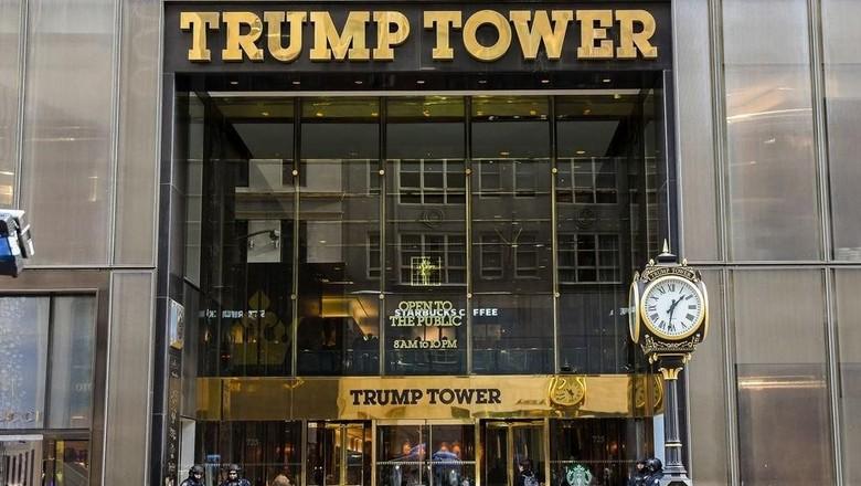 Trump Tower di New York (Mark Reinstein/Getty Images)