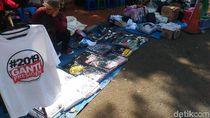 Aksi 67, Kaus #2019GantiPresiden Dijual di Masjid Istiqlal