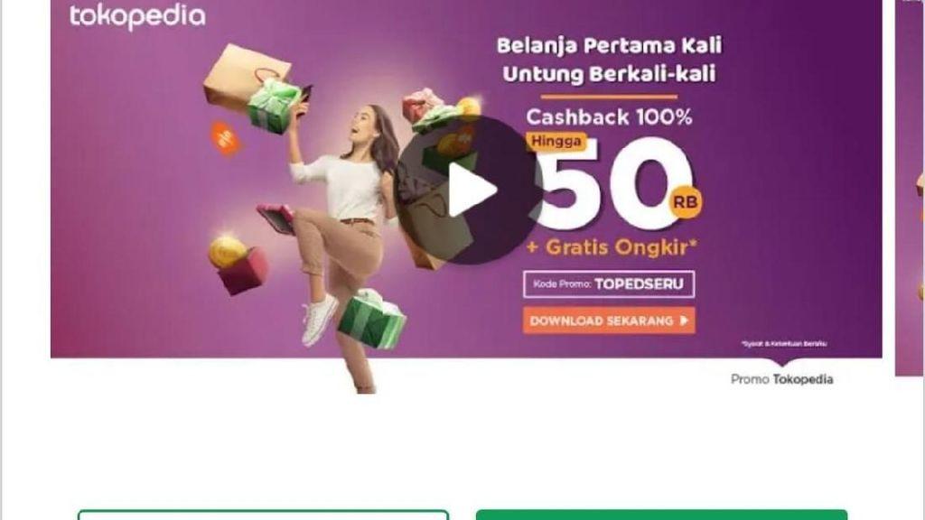 Tokopedia Terpilih Jadi Aplikasi Pilihan Editor di Play Store