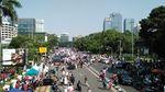 Potret Massa 67 Gelar Aksi di Depan Bareskrim