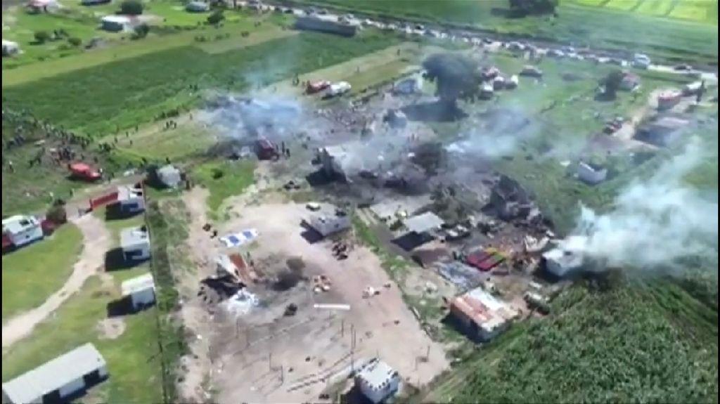 Pabrik Kembang Api di Meksiko Meledak, 19 Orang Tewas