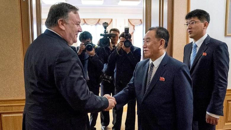 Menlu AS Kembali Kunjungi Pyongyang, Kejar Komitmen Nuklir Korut