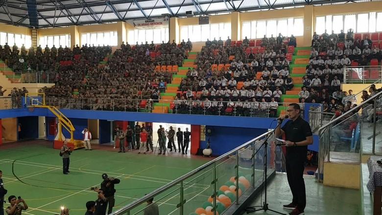 Sandi Janji Tingkatkan Kesejahteraan PTT Dishub dan Satpol PP