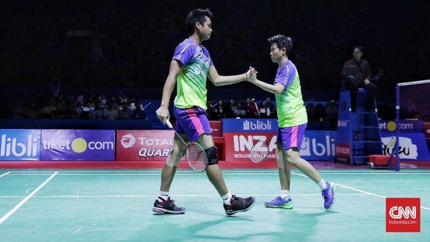 Tontowi Ahmad/Liliyana Natsir akan bermain di Indonesia Open 2018.