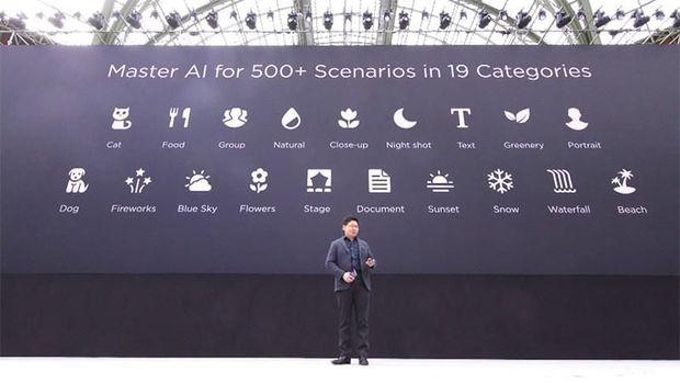Review kamera Huawei P20.