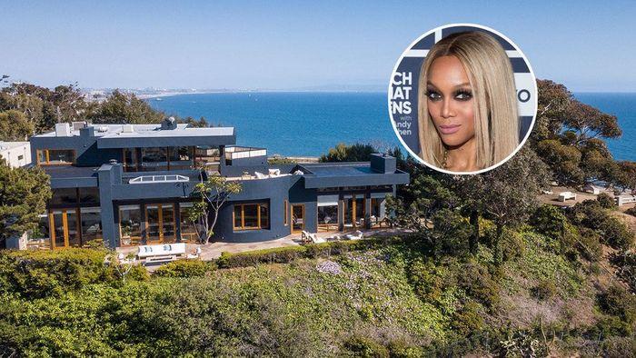 Tyra Banks membeli rumah ini pada 2016 lalu seharga US$ 7,35 juta.