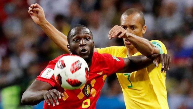Romelu Lukaku pemain Belgia keturunan Kongo. (