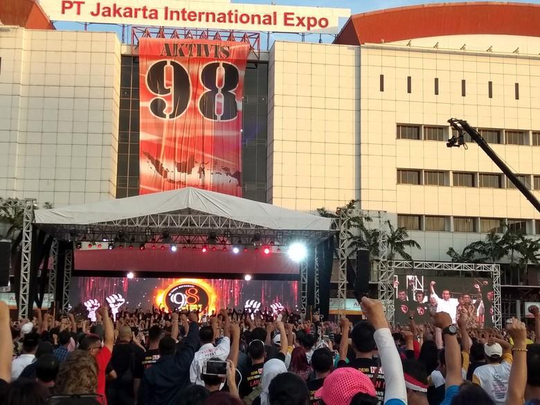 Aktivis 98 Deklarasi Dukung Jokowi 2 Periode