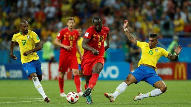 Romelu Lukaku mencetak gol terbanyak untuk Belgia di Piala Dunia 2018.