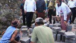 Di Bali, Padat Karya Cash Jokowi Dipakai Bangun Subak