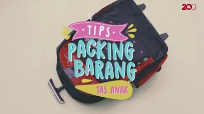 Tips Anti Ribet Packing Barang Anak untuk Liburan