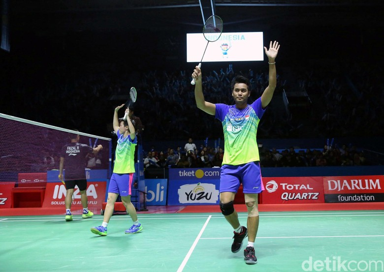 Tontowi/Liliyana Melenggang ke Final Indonesia Open 2018