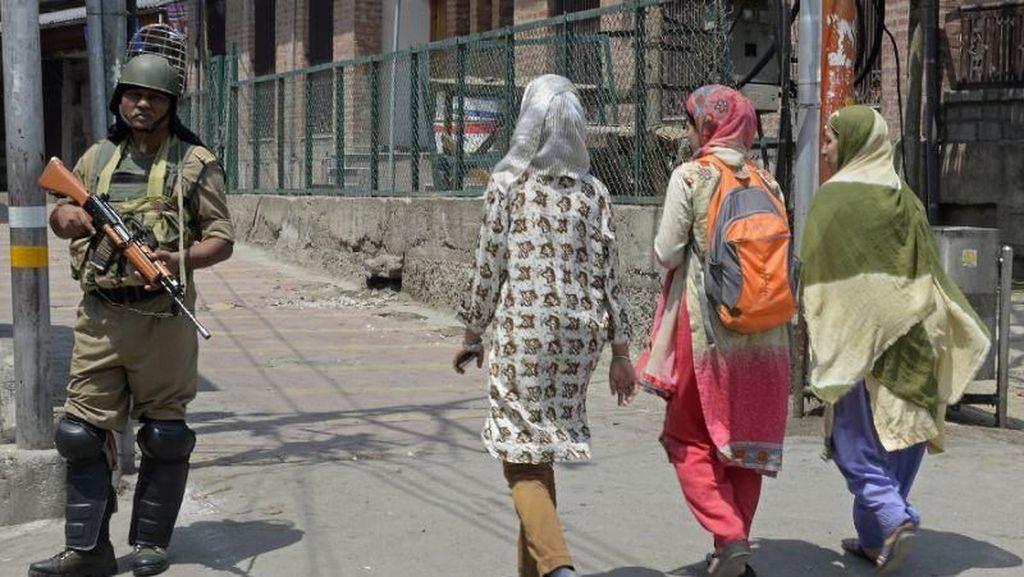 Baku Tembak di Kashmir Tewaskan Tentara India dan Pakistan