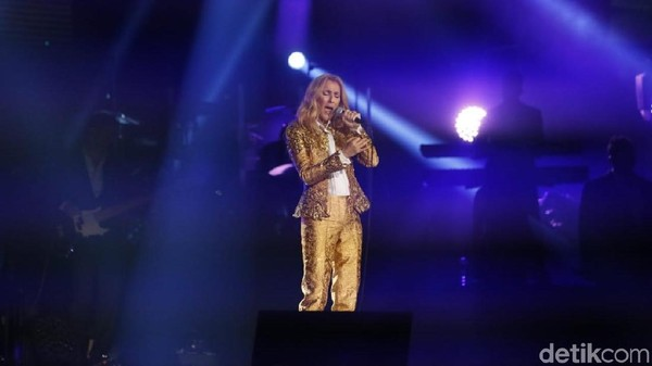 The Power of Love Jadi Lagu Pertama Celine Dion di Konser Indonesia