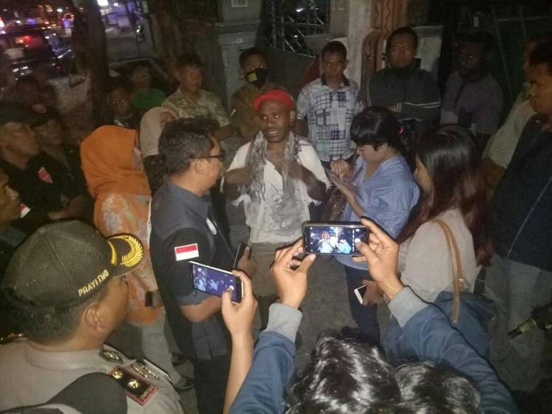 Ini Alasan Mahasiswa Papua di Surabaya Tolak Operasi Yustisi Petugas