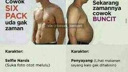 Tubuh kekar mungkin menjadi dambaan para pria. Tapi coba lihat meme ini, tubuh kekar mereka malah dijadikan bercandaan. Kocak banget!