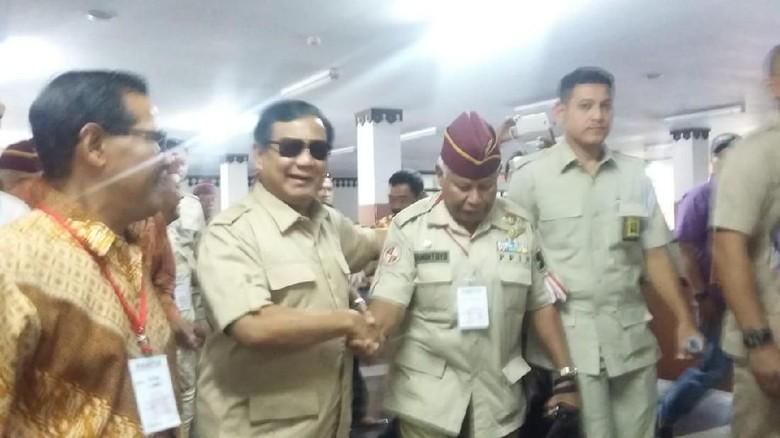 Yayat Sudrajat Merapat ke Prabowo, Berkarya: Bukan Sikap Partai
