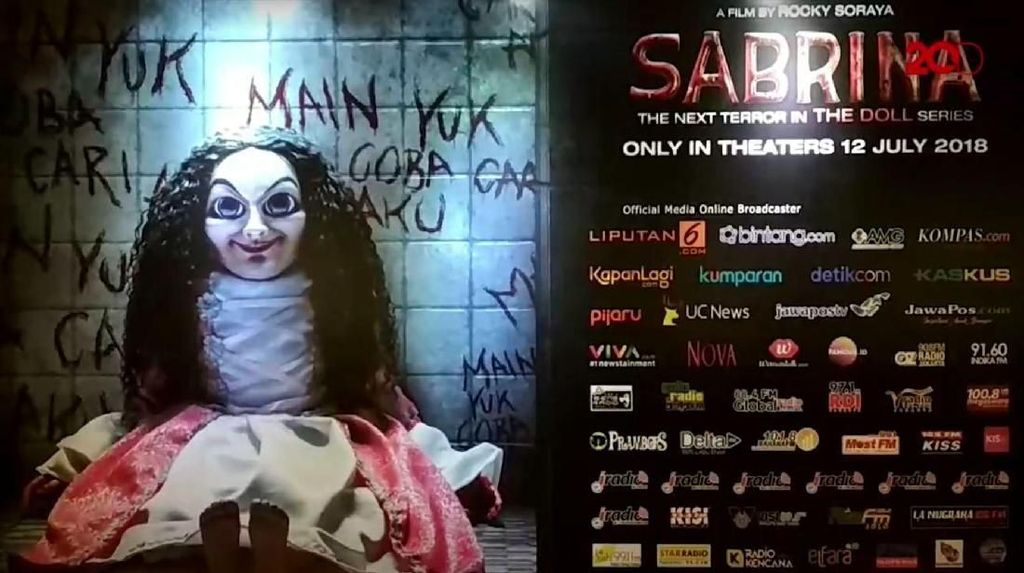 Nazar Para Pemain Jika Sabrina Tembus 2 Juta Penonton