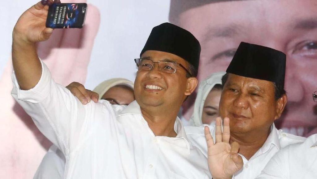 Survei Pilpres 2024 Median: Prabowo Vs Anies Baswedan Bersaing Ketat