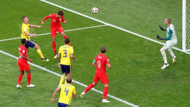 LIVE: Swedia vs Inggris di Perempat Final Piala Dunia 2018