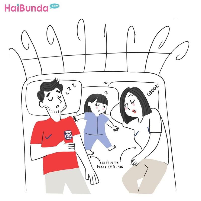 Keluarga Bunda di komik ini punya cerita seputar Piala Dunia 2018. Di keluarga Bunda, apa cerita tentang Piala Dunia 2018 yang paling mengesankan?