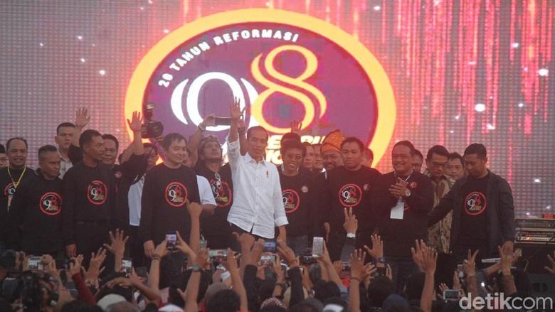 Jokowi Sampaikan Terima Kasih ke Aktivis 98
