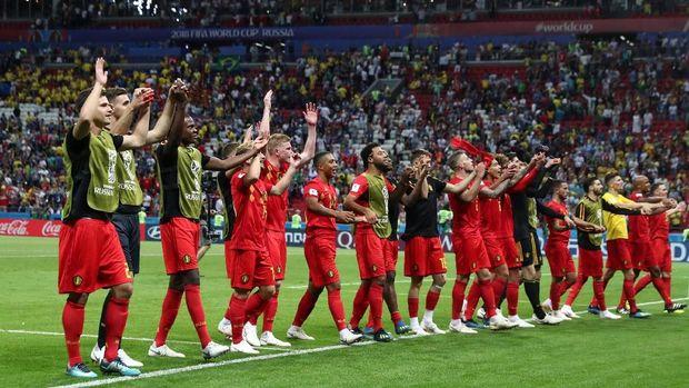 Belgia bertekad mengukir sejarah untuk kali pertama ke final Piala Dunia 2018. (