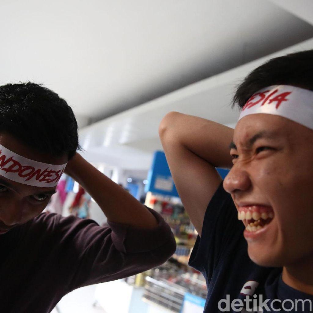 Melihat Keseruan Penonton Indonesia Open 2018