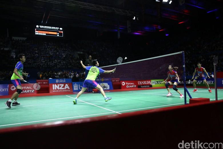 Gelar Indonesia Open Pamungkas Tontowi/Liliyana