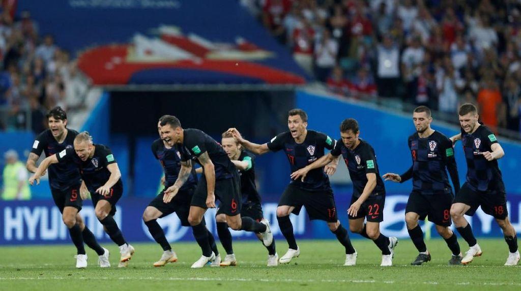 Kalahkan Rusia lewat Adu Penalti, Kroasia Maju ke Semifinal