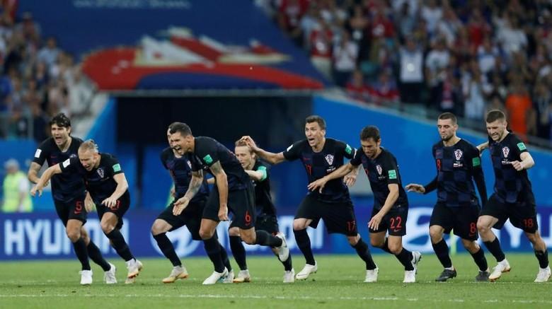 Kroasia mampu melangkah sampai semifinal Piala Dunia 2018 (Carl Recine/Reuters)