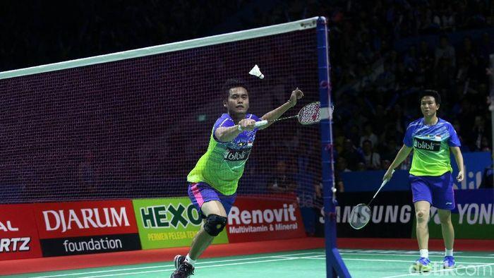 Tontowi Ahmad/Liliyana Natsir juara Indonesia Open 2018 (Foto: Grandyos Zafna)