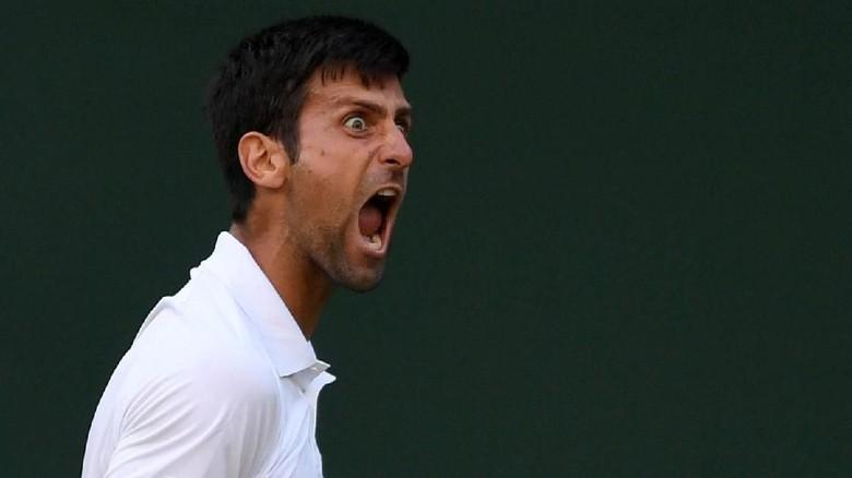 Ketika Penonton Wimbledon Bikin Djokovic Habis Kesabaran