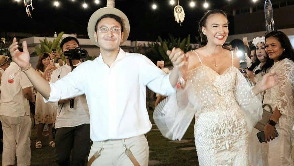 Melihat Lokasi Resepsi Pernikahan Nadine-Dimas Anggara