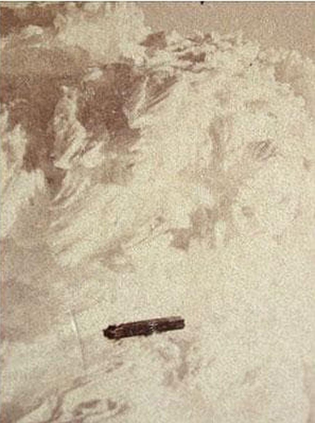 Foto ini diklaim jadi penampakan UFO pertama pada 1870. Foto ini lokasinya ada di Gunung Washington, New Hampshire.Foto: Telegraph