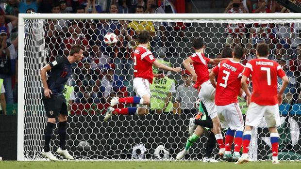 Kroasia yang menyisihkan tuan rumah Rusia di Piala Dunia 2018