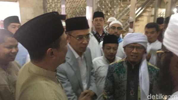 TGB Dukung Jokowi, Aa Gym: Jangan Sampai Rusak Ukhuwah Islamiyah
