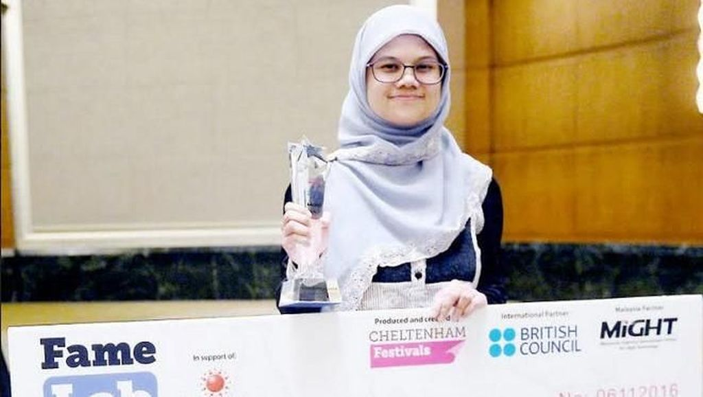 Masih Muda, Doktor Berhijab Ini Jadi Juara Kontes Science Dunia