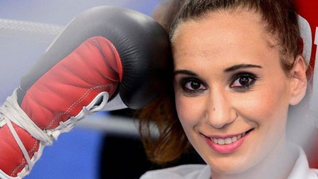 Olahraganya Ivana Habazi, Jawara Tinju Cantik dari Kroasia