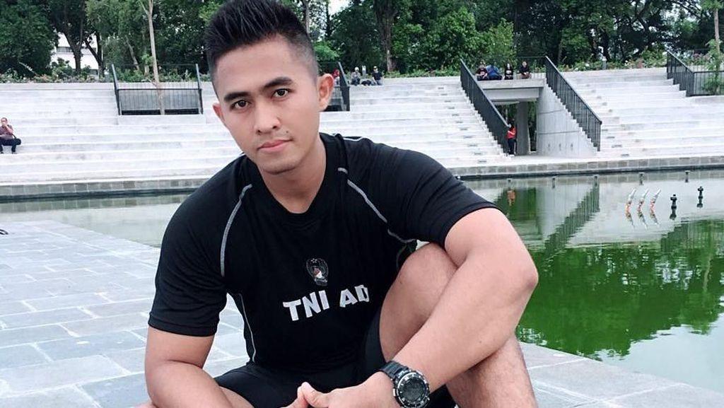 Mustafa Habibi, Sosok TNI Ganteng yang Punya Tubuh Atletis