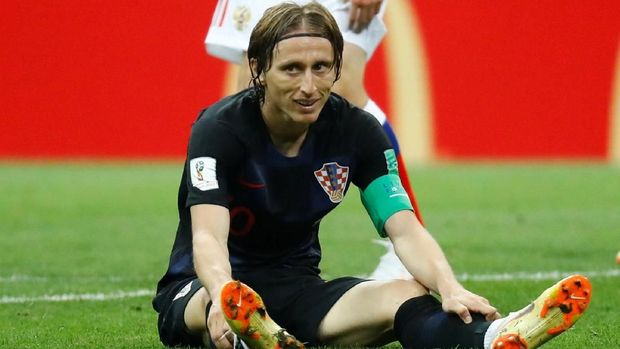 Kroasia bermain hingga 120 menit di laga perempat final dan 16 Besar Piala Dunia 2018.