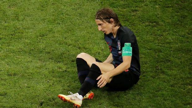 Luka Modric berhasil memimpin Kroasia 2018 melewati pencapaian Kroasia 1998.