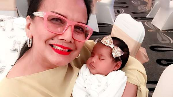 Cantik Serba Pink! Audy-Iko Uwais Gelar Tasyakuran Anak ke-2