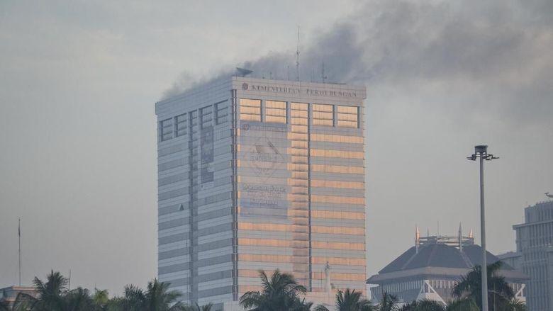 Fakta-fakta Kebakaran Gedung Kemenhub yang Tewaskan 3 Orang