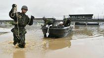 34 Orang Hilang Akibat Longsor dan Banjir Bandang di Jepang